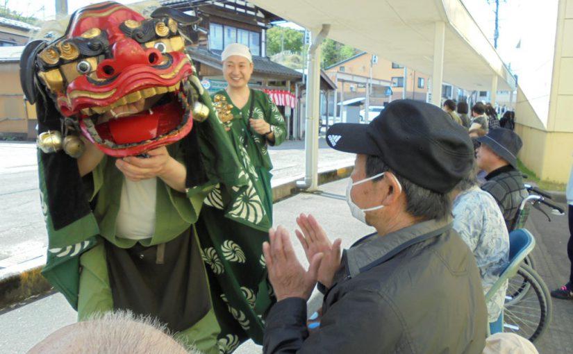 栃尾大名行列見学